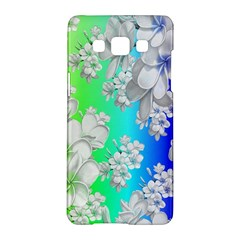 Delicate Floral Pattern,rainbow Samsung Galaxy A5 Hardshell Case