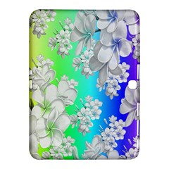 Delicate Floral Pattern,rainbow Samsung Galaxy Tab 4 (10 1 ) Hardshell Case