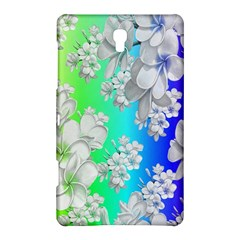 Delicate Floral Pattern,rainbow Samsung Galaxy Tab S (8.4 ) Hardshell Case