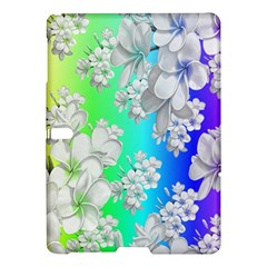 Delicate Floral Pattern,rainbow Samsung Galaxy Tab S (10.5 ) Hardshell Case
