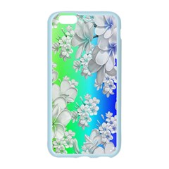 Delicate Floral Pattern,rainbow Apple Seamless iPhone 6 Case (Color)