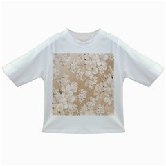 Delicate Floral Pattern,softly Infant/Toddler T-Shirts