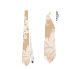 Delicate Floral Pattern,softly Neckties (Two Side)