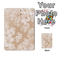 Delicate Floral Pattern,softly Multi-purpose Cards (Rectangle)