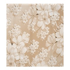 Delicate Floral Pattern,softly Shower Curtain 66  X 72  (large)