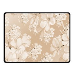 Delicate Floral Pattern,softly Fleece Blanket (Small)