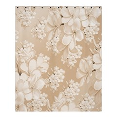 Delicate Floral Pattern,softly Shower Curtain 60  x 72  (Medium)