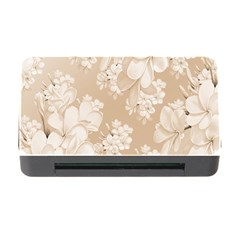 Delicate Floral Pattern,softly Memory Card Reader With Cf