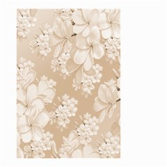 Delicate Floral Pattern,softly Small Garden Flag (Two Sides)