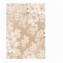Delicate Floral Pattern,softly Large Garden Flag (Two Sides)