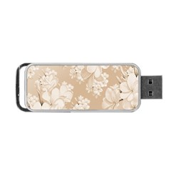 Delicate Floral Pattern,softly Portable USB Flash (One Side)