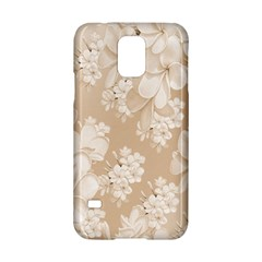 Delicate Floral Pattern,softly Samsung Galaxy S5 Hardshell Case