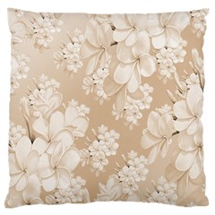 Delicate Floral Pattern,softly Large Flano Cushion Cases (Two Sides)