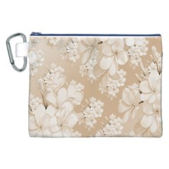 Delicate Floral Pattern,softly Canvas Cosmetic Bag (XXL)