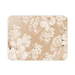 Delicate Floral Pattern,softly Double Sided Flano Blanket (mini)