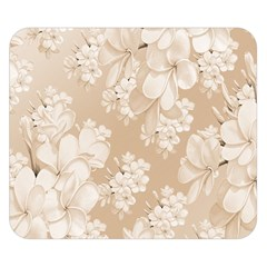 Delicate Floral Pattern,softly Double Sided Flano Blanket (small)