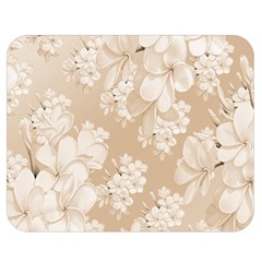 Delicate Floral Pattern,softly Double Sided Flano Blanket (Medium)