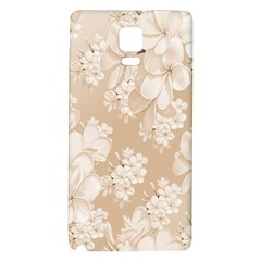 Delicate Floral Pattern,softly Galaxy Note 4 Back Case