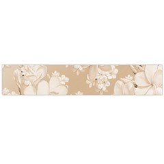 Delicate Floral Pattern,softly Flano Scarf (Large)