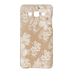 Delicate Floral Pattern,softly Samsung Galaxy A5 Hardshell Case