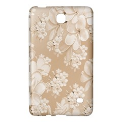 Delicate Floral Pattern,softly Samsung Galaxy Tab 4 (8 ) Hardshell Case
