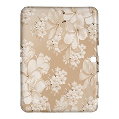 Delicate Floral Pattern,softly Samsung Galaxy Tab 4 (10.1 ) Hardshell Case