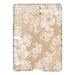 Delicate Floral Pattern,softly Samsung Galaxy Tab S (10.5 ) Hardshell Case