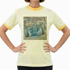 Another Winter Wonderland 1 Women s Fitted Ringer T-Shirts