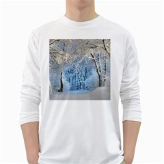 Another Winter Wonderland 1 White Long Sleeve T-Shirts