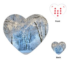 Another Winter Wonderland 1 Playing Cards (Heart)