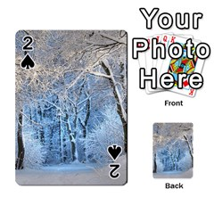 Another Winter Wonderland 1 Playing Cards 54 Designs