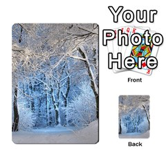 Another Winter Wonderland 1 Multi Purpose Cards (rectangle)