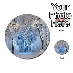 Another Winter Wonderland 1 Multi-purpose Cards (Round)