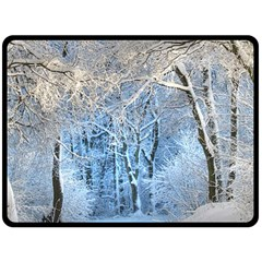 Another Winter Wonderland 1 Double Sided Fleece Blanket (Large)