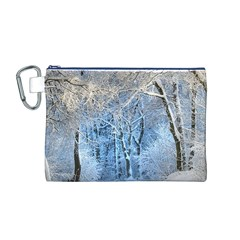 Another Winter Wonderland 1 Canvas Cosmetic Bag (m)