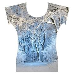 Another Winter Wonderland 1 Women s Cap Sleeve Top