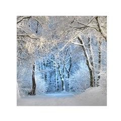 Another Winter Wonderland 1 Small Satin Scarf (Square)