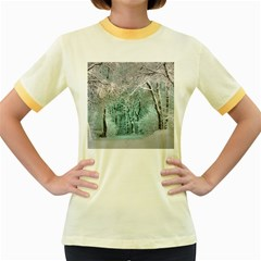 Another Winter Wonderland 2 Women s Fitted Ringer T-Shirts