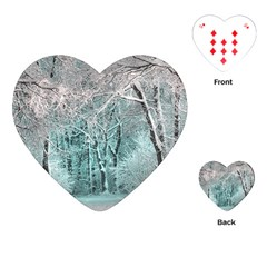 Another Winter Wonderland 2 Playing Cards (Heart)