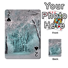 Another Winter Wonderland 2 Playing Cards 54 Designs