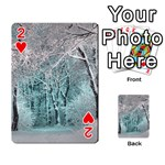Another Winter Wonderland 2 Playing Cards 54 Designs  Front - Heart2