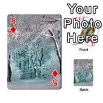 Another Winter Wonderland 2 Playing Cards 54 Designs  Front - Diamond5