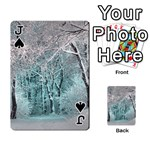 Another Winter Wonderland 2 Playing Cards 54 Designs  Front - SpadeJ