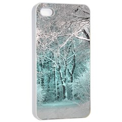 Another Winter Wonderland 2 Apple iPhone 4/4s Seamless Case (White)