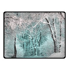 Another Winter Wonderland 2 Double Sided Fleece Blanket (small)