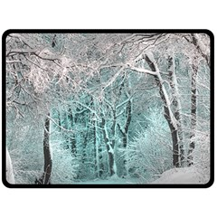 Another Winter Wonderland 2 Double Sided Fleece Blanket (large)