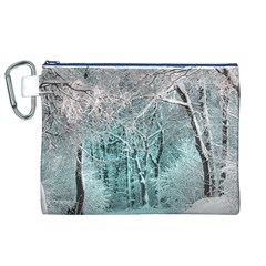 Another Winter Wonderland 2 Canvas Cosmetic Bag (XL)