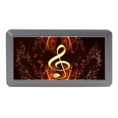 Decorative Cllef With Floral Elements Memory Card Reader (Mini)