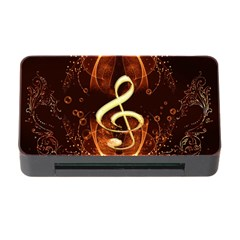 Decorative Cllef With Floral Elements Memory Card Reader with CF