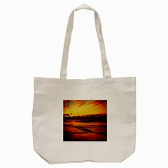 Stunning Sunset On The Beach 2 Tote Bag (cream)